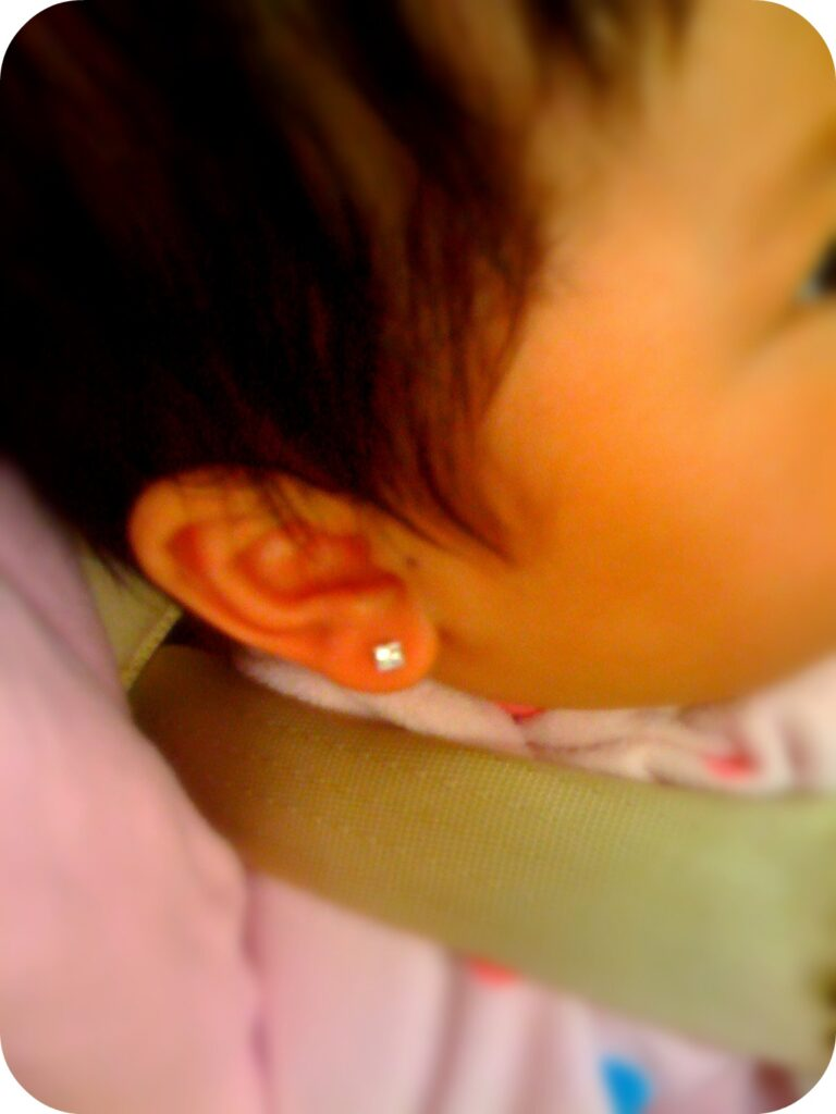 Infant Ear Piercing: 7 Helpful Tips - Whispered Inspirations