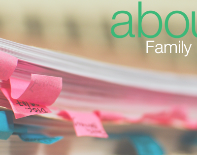 Family Organization with AboutOne.com!