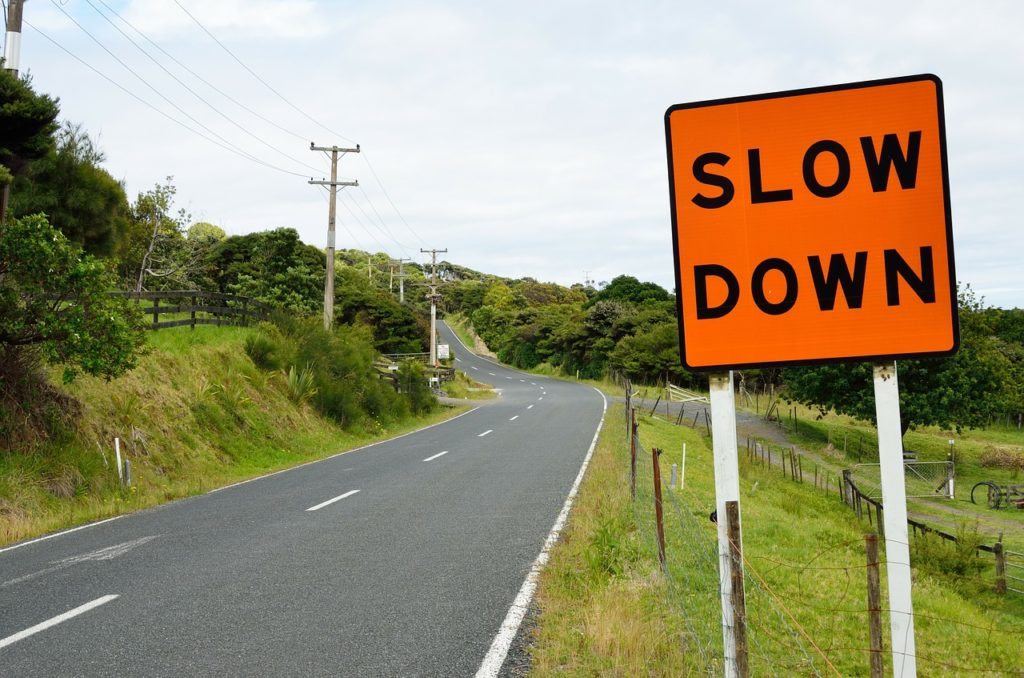 Learn to Slow Down. Be Safe & Appreciate Life.