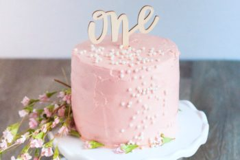 Baby's First Organic Birthday Cake Recipe