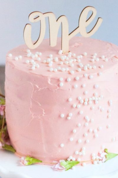 Baby's First Organic Birthday Cake - Whispered Inspirations