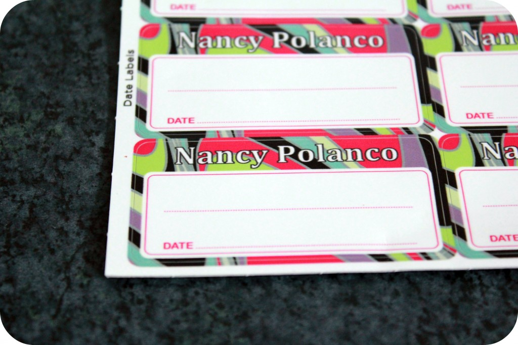 Personalized labels are shown.
