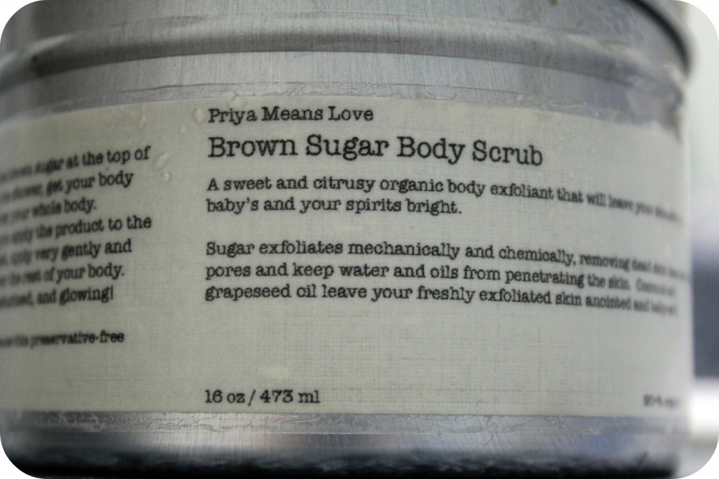 Priya Means Love: A Natural, Organic & Heavenly Scrub