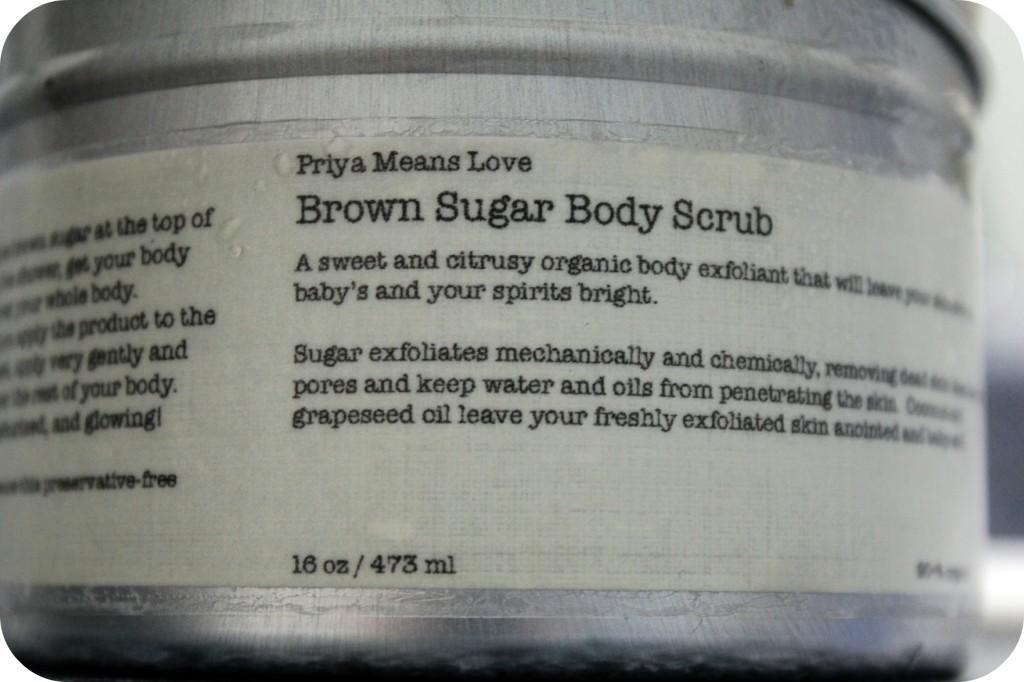 Priya Means Love: A Natural, Organic & Heavenly Scrub