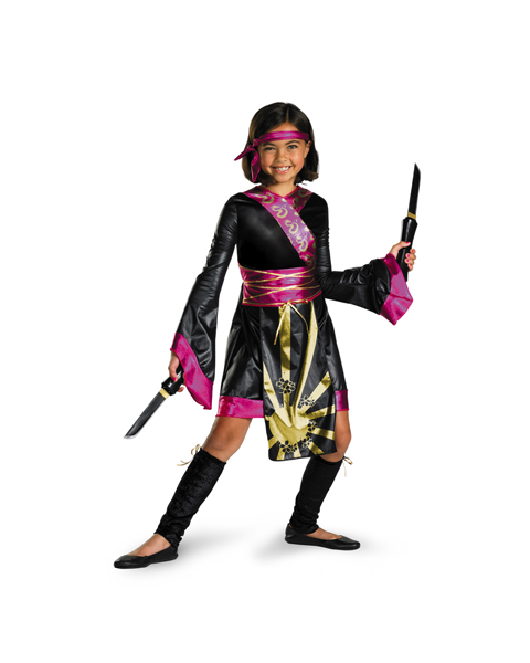Pink Ninja Girls Costume: CostumeDiscounters.com Review!