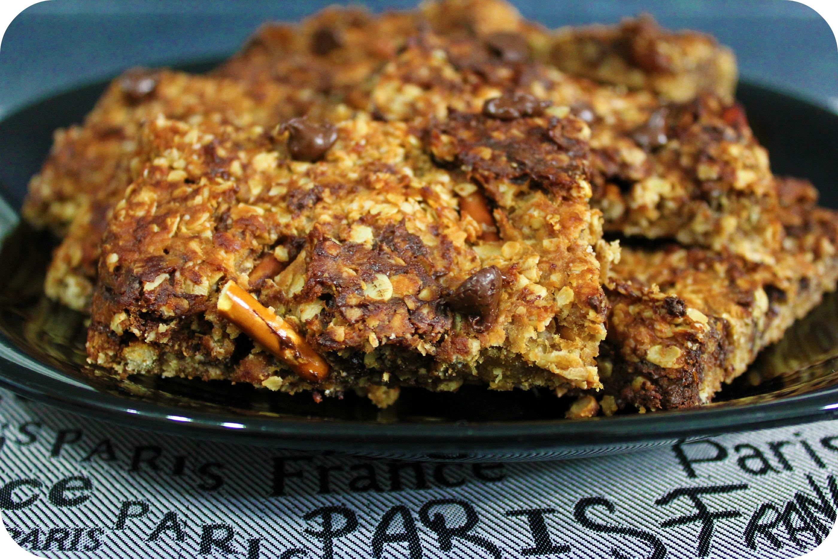 Snyder's of Hanover's Organic Trail Bars Recipe
