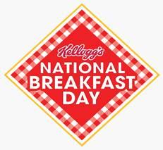 Kellogg's National Breakfast Day logo.