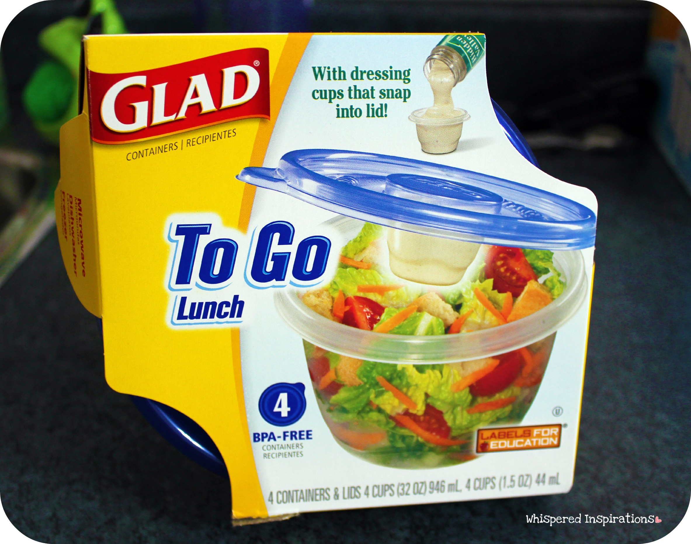 GLAD to Go: Lunch Containers Review