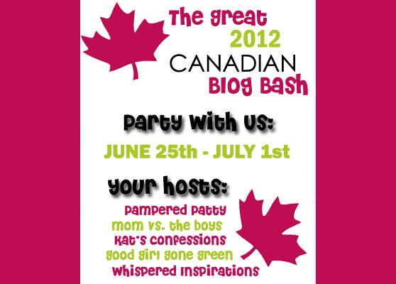 The Great Canadian Blog Bash Fast Approaches!