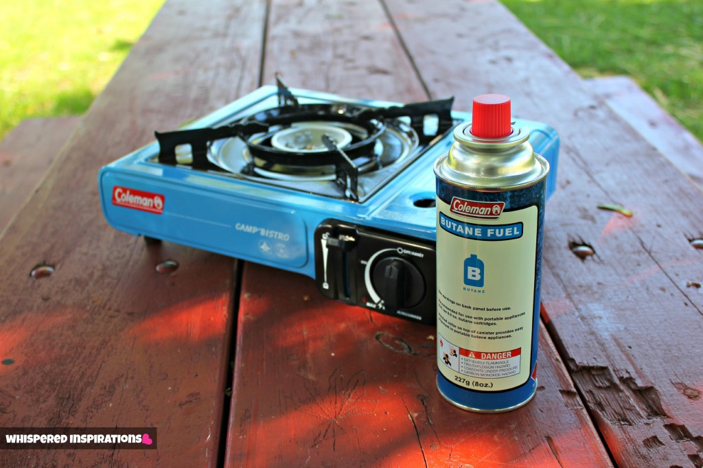 how to open coleman butane fuel
