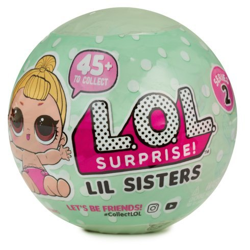 L.O.L. Surprise Dolls: Series 2 Tot & Lil Sister