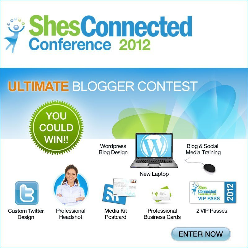 ShesConnected: Take It to the Next Level or Begin Your Journey with The Ultimate Blogger Package!