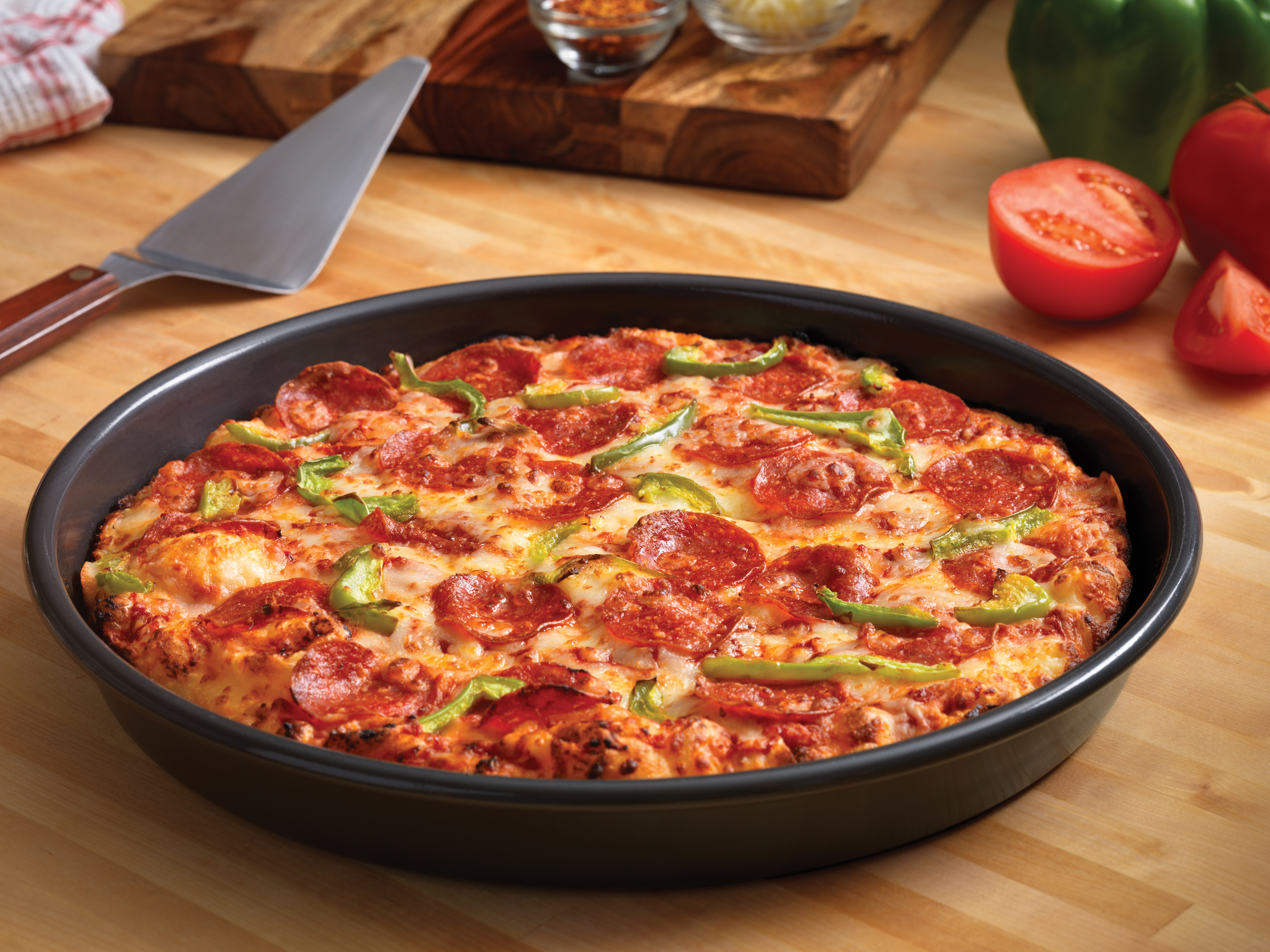 Forget Frozen Pizza Dough: Domino's Now Has Handmade Pan Pizzas in 5, 000 US Stores!