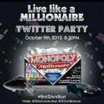 Monopoly Live Like a Millionaire: Be the #First2AMillion with @ShesConnected's Twitter Party!