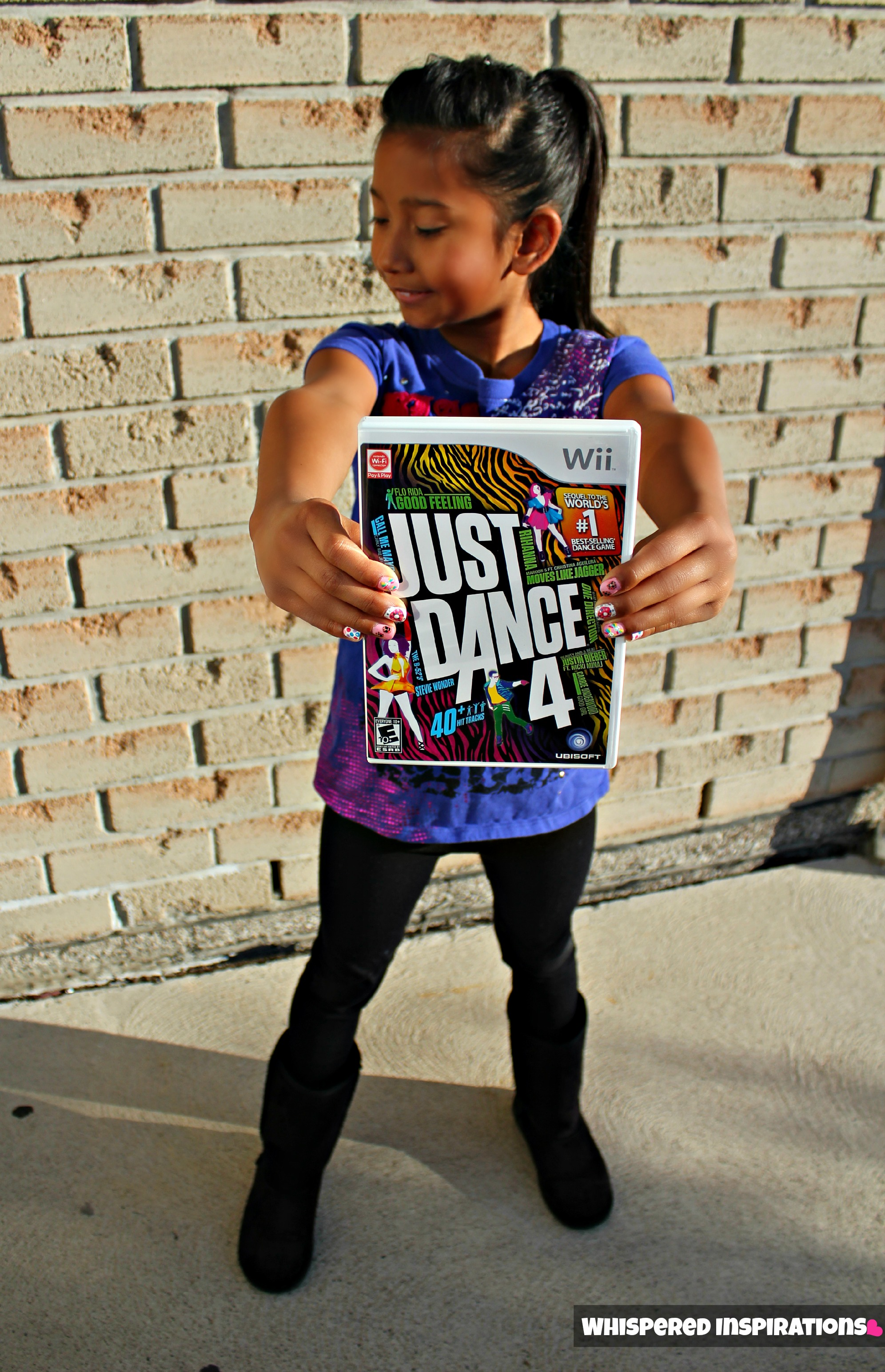 Ubisoft Just Dance 4: Get the Blood Flowing this Holiday Season & Let the Dance Battle Begin! #CleverJD4