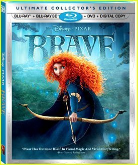 Disney Pixar Brave: Win 1 of 4 Blu-Ray DVD's to Add to Your Collection!