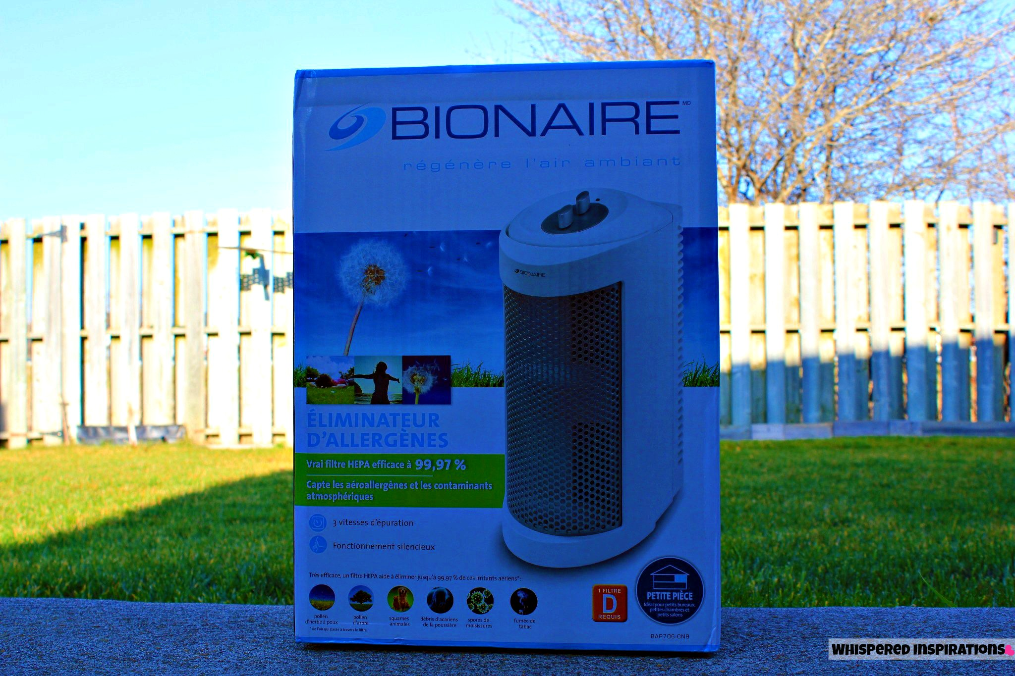 Bionaire Allergen Remover Mini Tower: Begin the New Year With a Fresh Start and Breathe Clean!