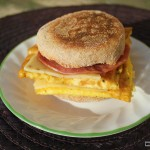 We Are #BreakfastReady with Dempster's: Hubby's Egg 'N Ham Muffin and The Perfect After School Snack!