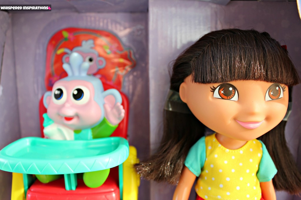 Dora the Explorer and Meal Time for Baby Boots