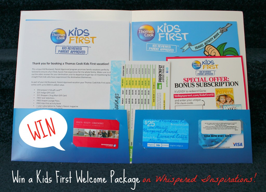 Thomas Cook Giveaway