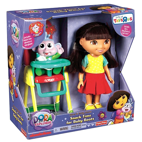 Nickelodeon and Fisher-Price: Endless Fun with the Dora the Explorer and Meal Time for Baby Boots Set! #Nickelodeon