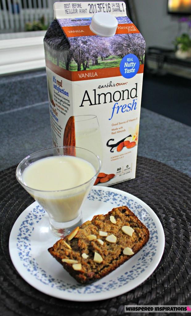 Earth's Own Almond Fresh Moist Banana Bread Recipe!