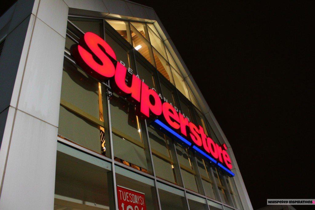 The Real Canadian Superstore Loblaws sign on Walker Rd.