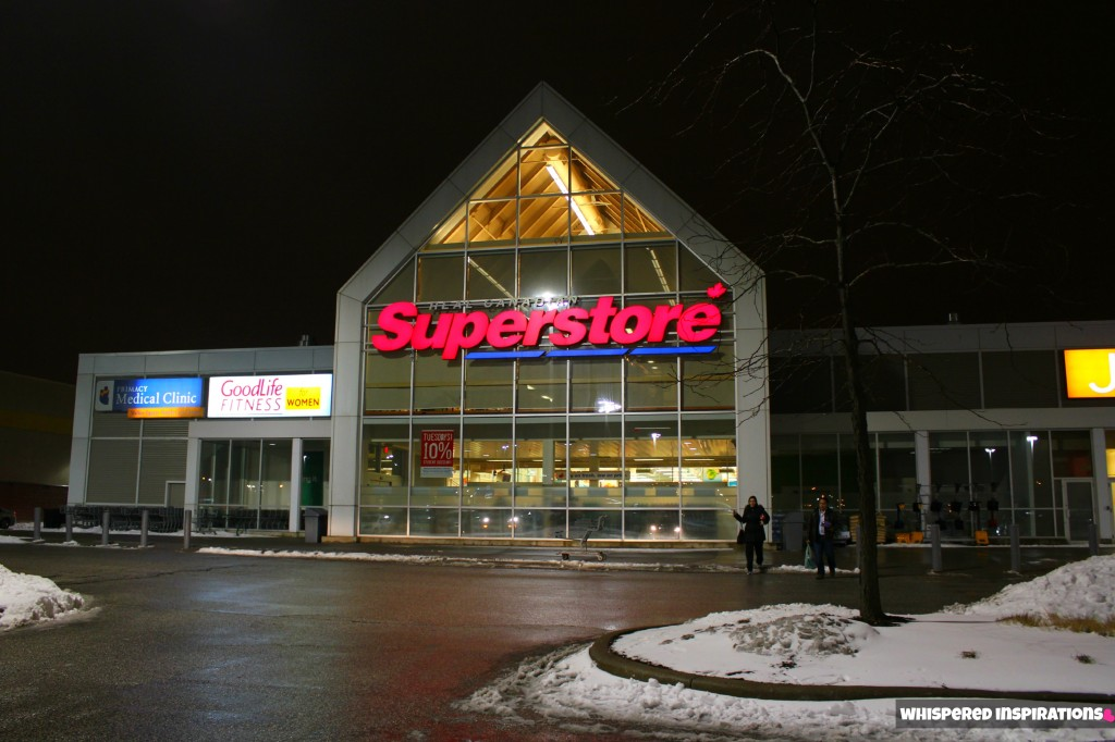 The Real Canadian Superstore Loblaws from the outside in Windsor.