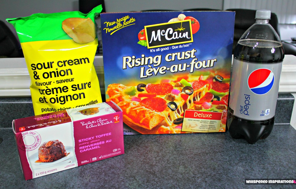 Pizza, snacks, and dessert all bout at the Real Canadian Superstore Loblaws.