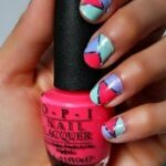 Nail Tutorial: OPI's Euro Centrale & Modern Family Tape Mani! #tutorial