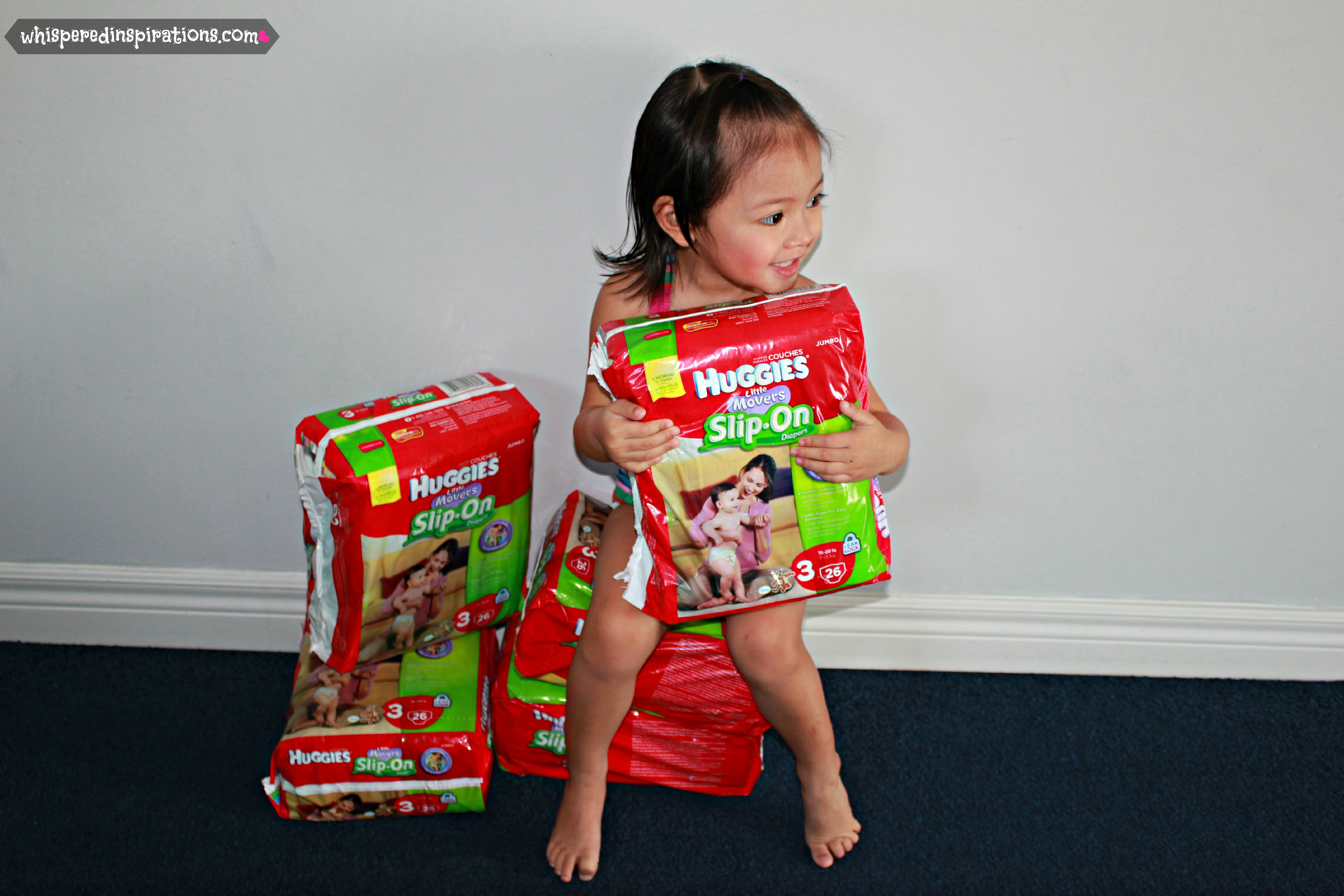 Huggies Little Movers Slip-On Diapers: Your Standing Baby Deserves an Outstanding Fit! #FirstFitw