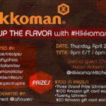 Twitter Party ALERT: Kikk Up the Flavor with Kikkoman. $700 in PRIZES & A Night of International Cuisine & Cooking Alternatives! #KikkomanSabor