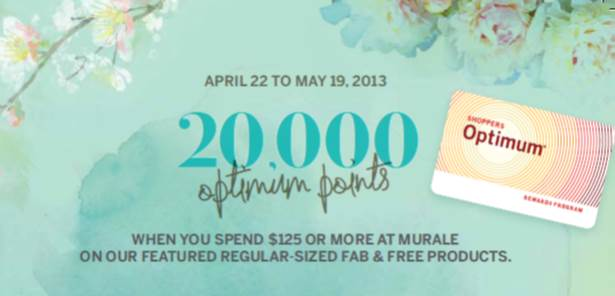 Murale by Shoppers Drug Mart: Be Fab and Free and Take Advantage of Amazing Offers! #FabNFree