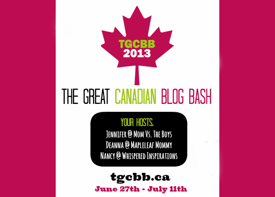 Announcing Our 2013 TGCBB Sponsors: Great Sponsors You Know and Love PLUS They Are Giving Away Cool All-CANADIAN Prizes! #TGCBB