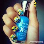 Despicable Me 2 Minion Nails: Assemble an Army of 10 Minions in 3 Easy Steps! #naildesign