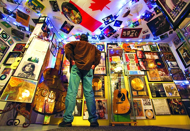 Rock and Roll Museum in Omemee Ont  2011 Fred Thornhill photo