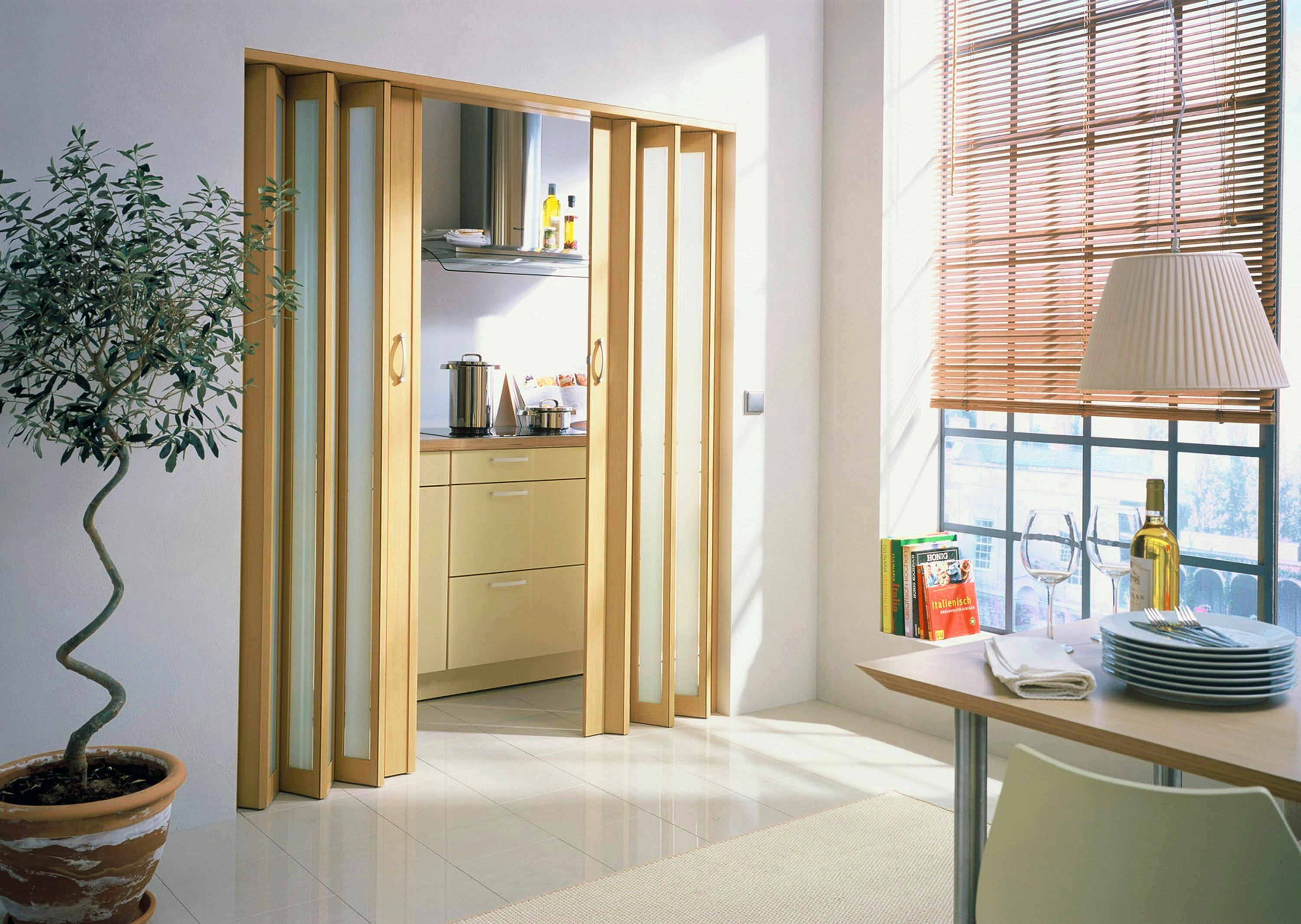 Accordion Doors: Transform Your Office Spaces, Bathrooms, Closets, Garages and More! #design