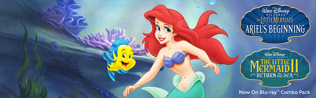 The Little Mermaid II & Ariel's Beginning: 2 Movie Collection is Coming November 19th! #disney