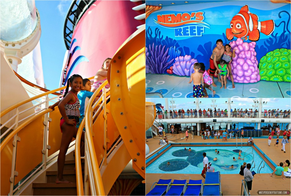 The pool, slides, and Nemo's Reef are shown.