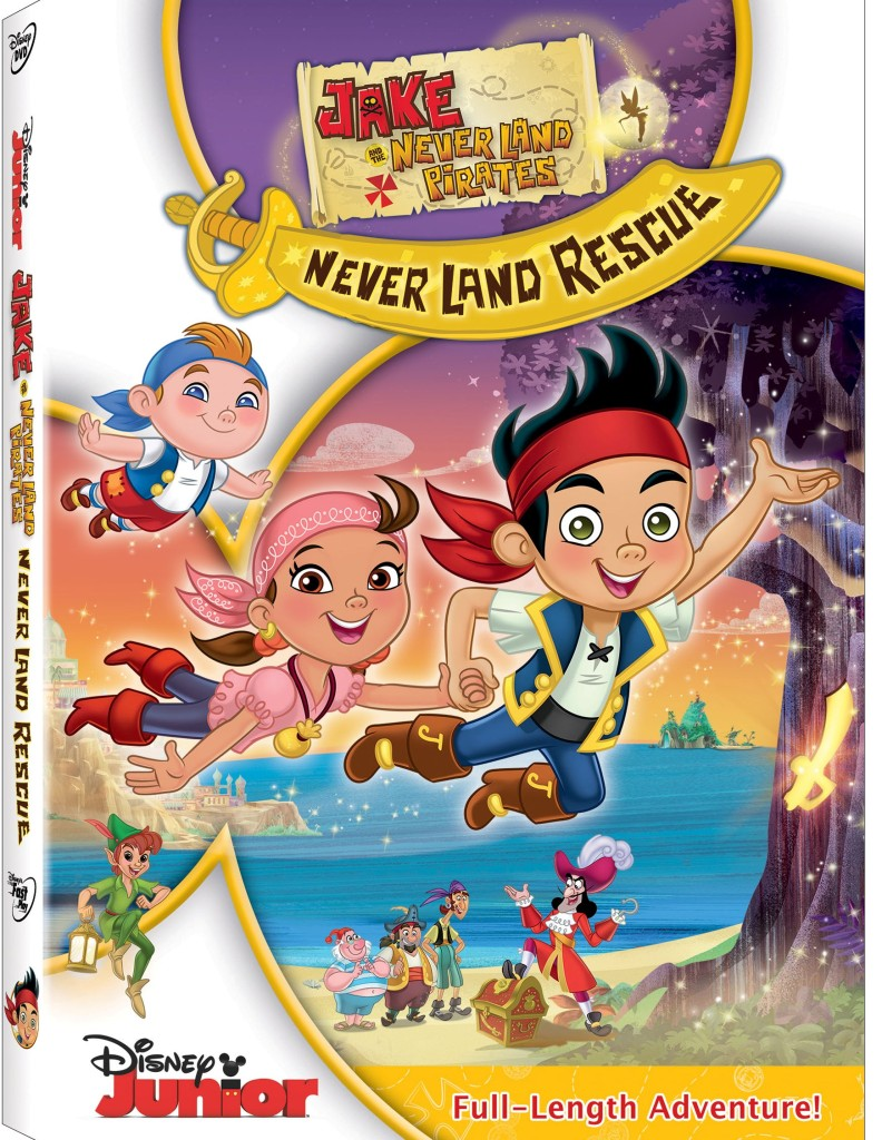 Jake and The Never Land Pirates: Jake's Never Land Rescue DVD Giveaway! #disney