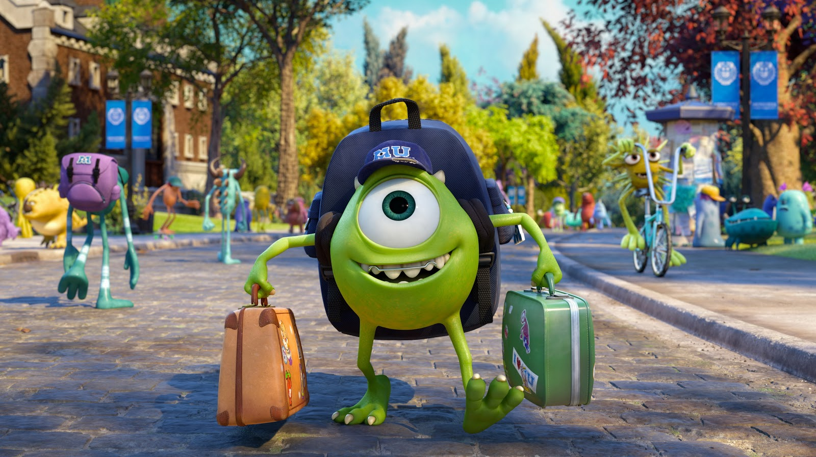 Monsters University A Family Favorite That Will Make You Laugh Enter To Win Monsters U Prize Pack Of Goodies Giveaway Whispered Inspirations