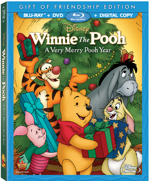 Winnie The Pooh: A Very Merry Pooh Year Blu-Ray + DVD and Digital Copy Giveaway! #disney