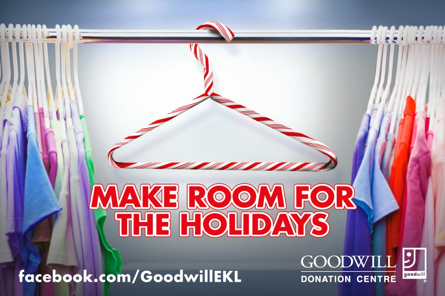 Goodwill Donation Centre in Windsor: Make Room for The Holidays & Donate to The New Goodwill Store at 1643 McDougall! #Windsor