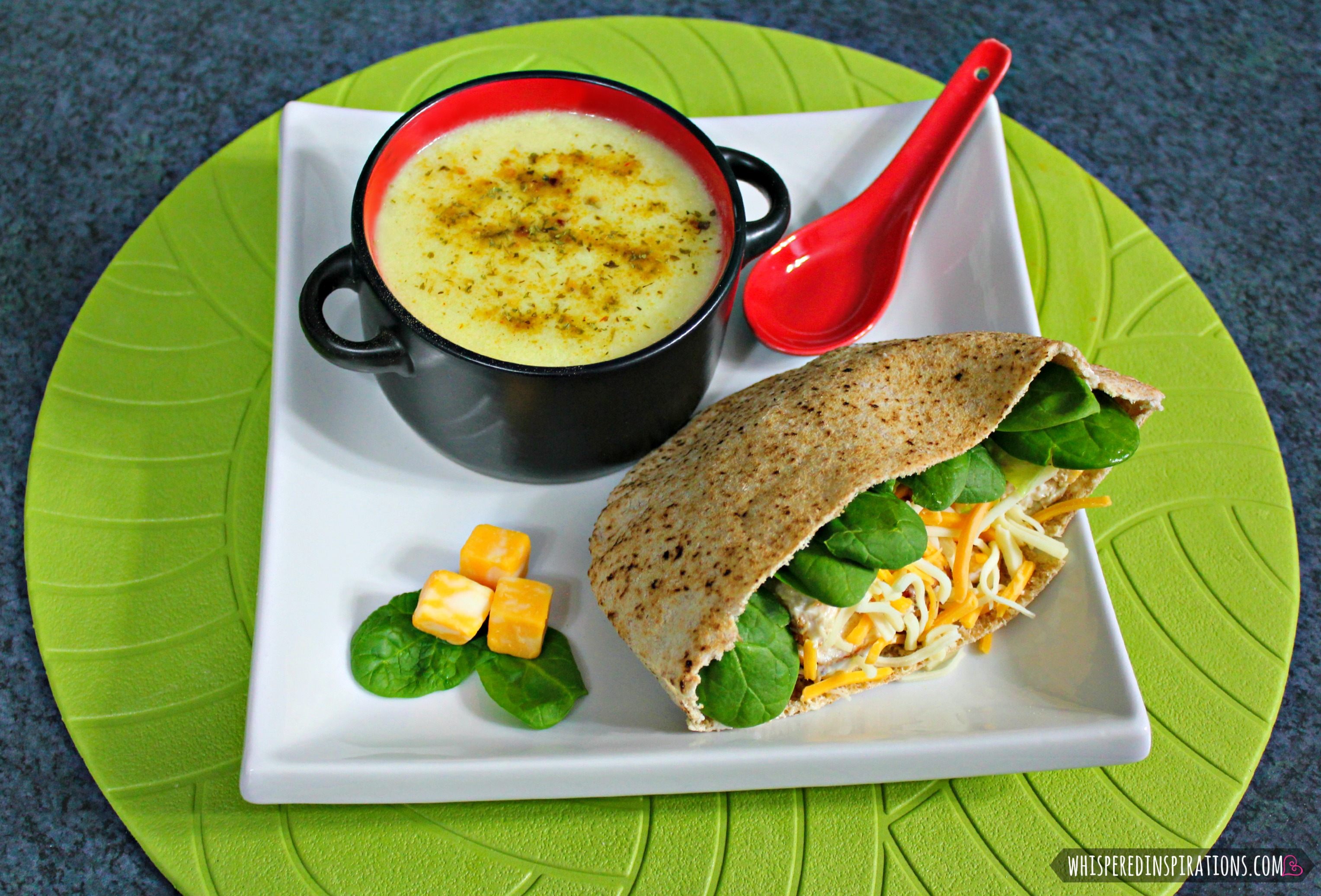 Mama Milagro's Chunky Cream of Potato Soup Recipe & Chicken Pita! #recipe