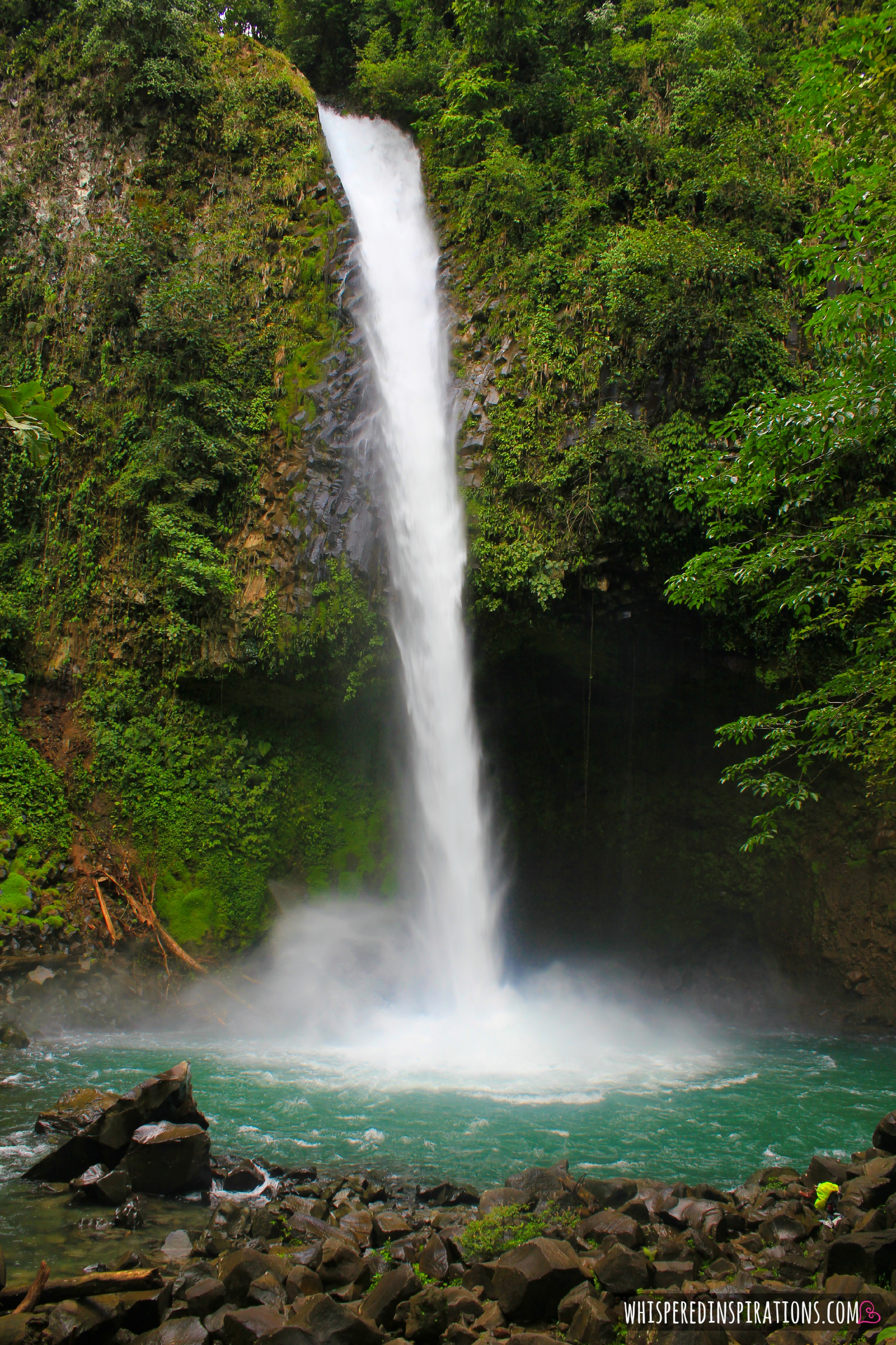 Visiting Costa Rica: Swimming in The La Catarata Fortuna, Crocodile Watching & Heading to Quepos. #GiftOfHappiness