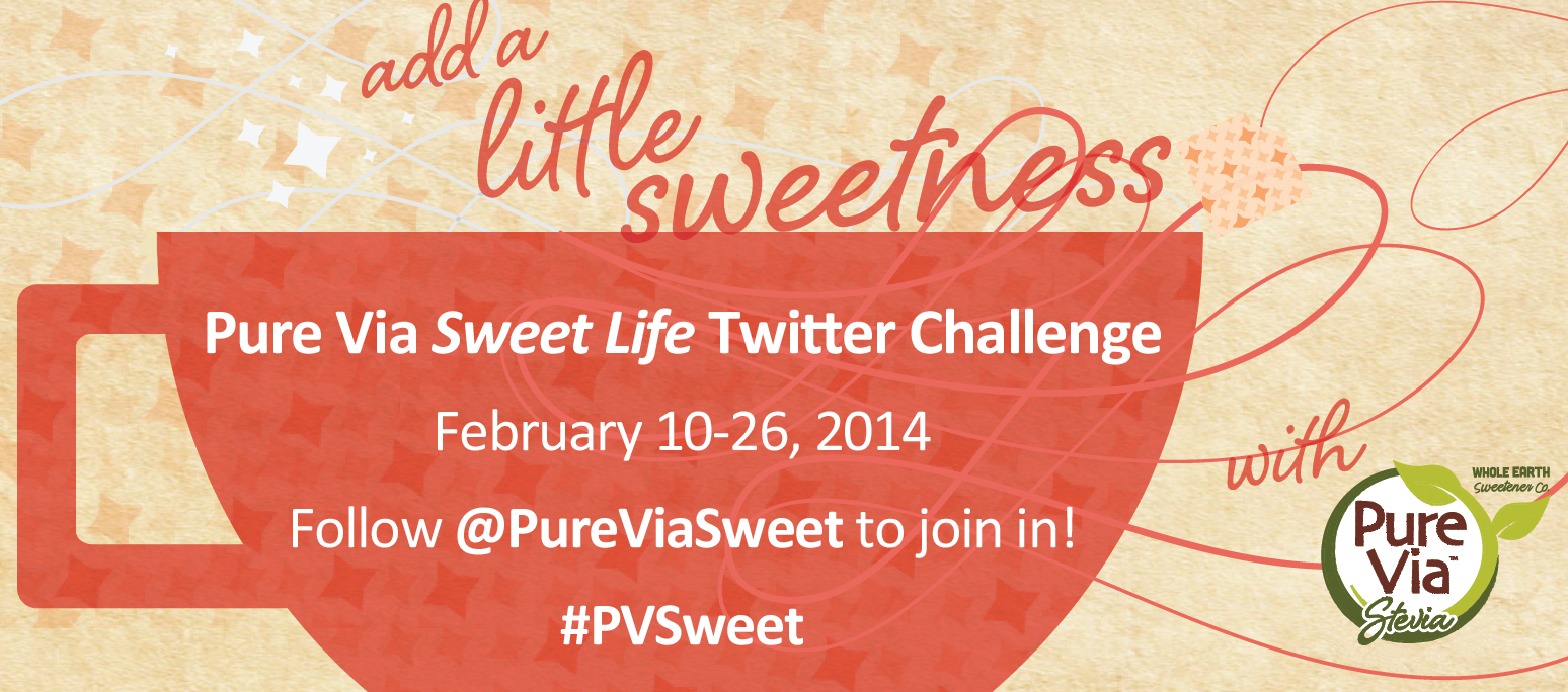 Take Part in the Pure Via Sweet Life Twitter Challenge! #PVSweet
