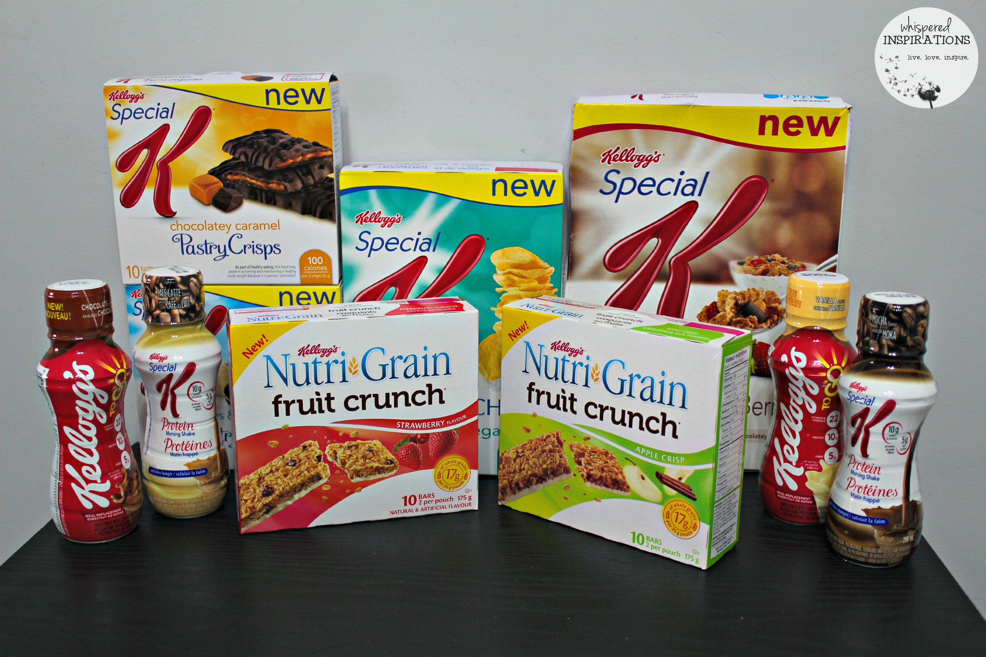 Check Out the Newest Products from Kelloggs: Special K Bars, Protein TO GO Breakfast Shakes and Much More!
