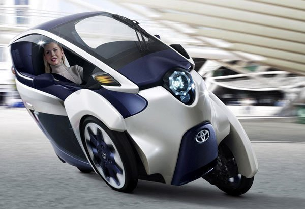The Toyota i-ROAD: Green Technology That Could Change How You Drive in The Future. #tech