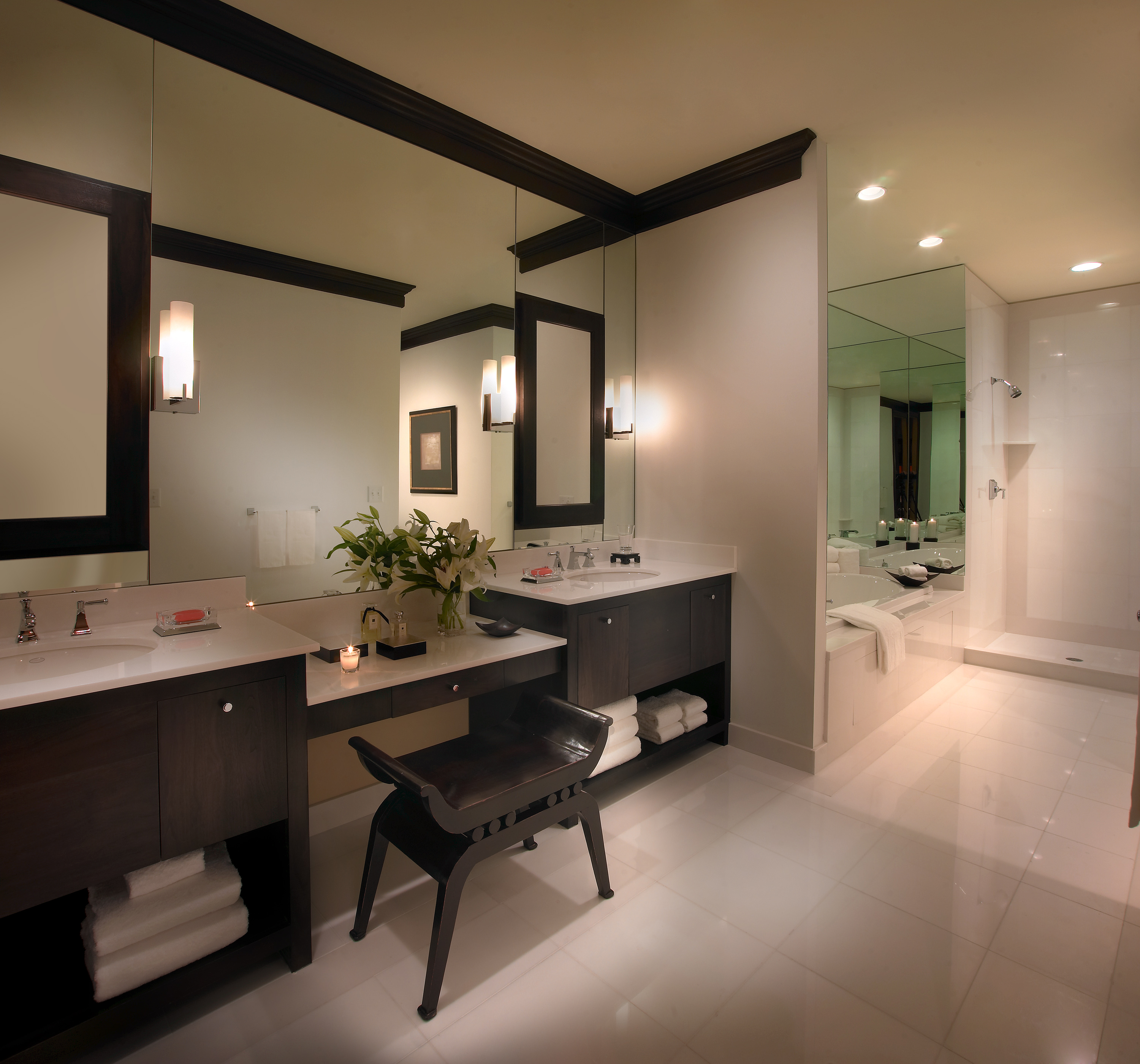 Updating Your Bathroom Made Easy: A Few Vital Items Can Make a World of A Difference. #homedecor
