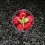 Cranberry Raspberry Mint Spritzer